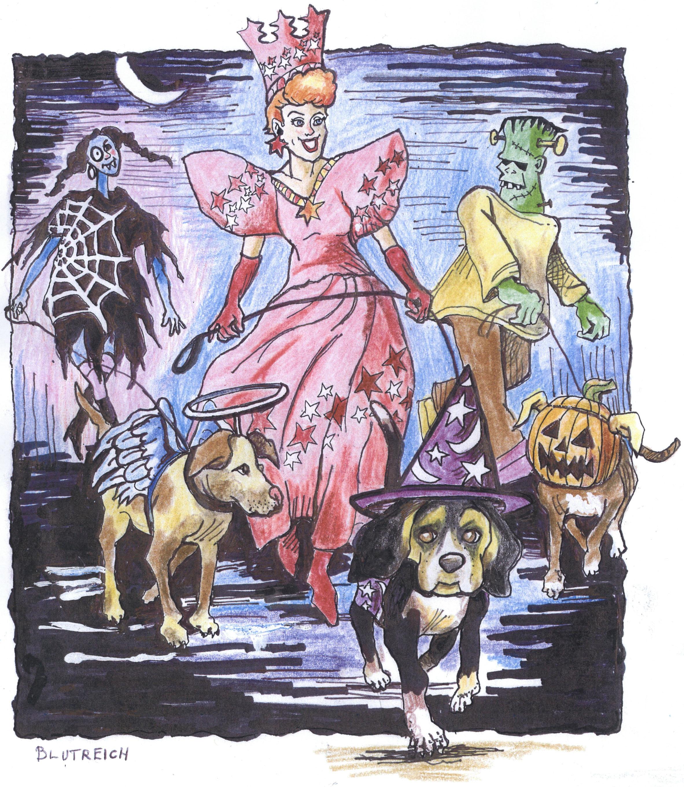 Halloween Marlena