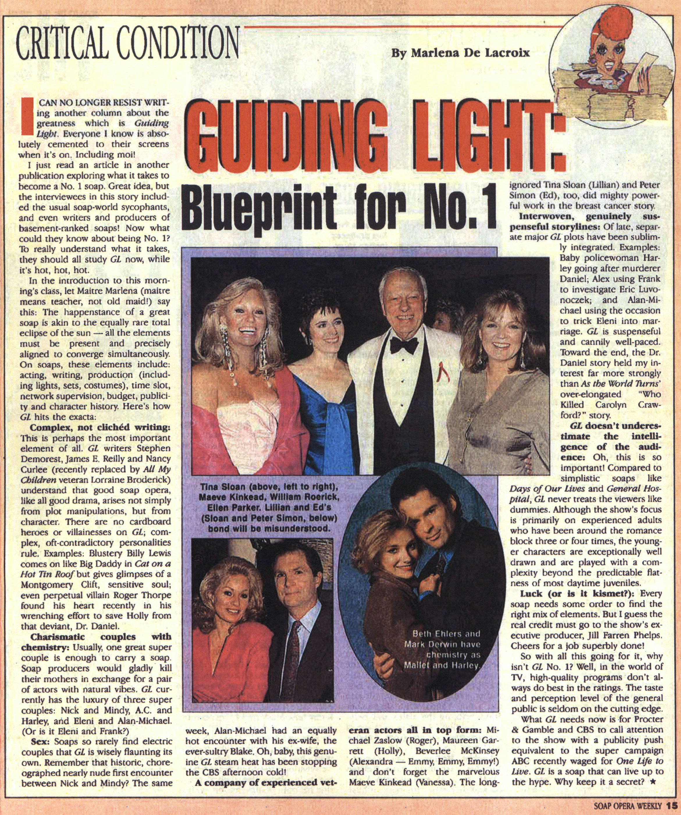 Celebrating the Glorious Life of Guiding Light: From 1992